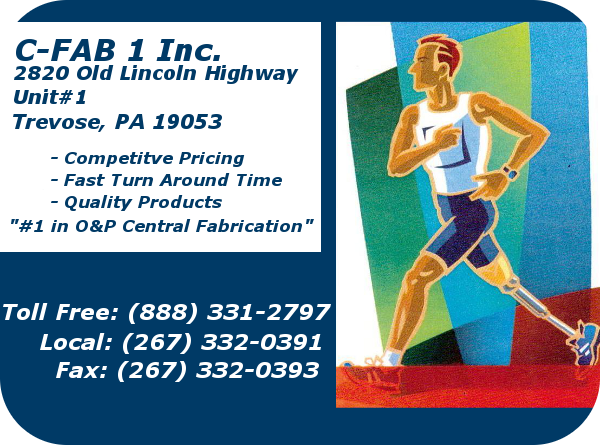 C-FAB-1 INC. '#1 in O&P Central Fabrication'